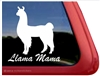 Llama Mama Car Truck RV Window Decal Sticker