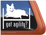 Pembroke Corgi Agility Dog Window Decal