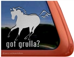 Dun Horse Window Decal