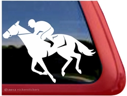Thoroughbred Window Decal