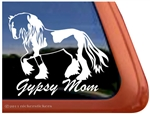 Gypsy Mom Horse Trailer  Window Decal