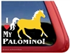 Palomino Window Decal
