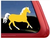 Custom Palomino Horse Trailer Car Truck RV Window Decal Sticker