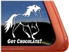 Rocky Mountain Horse Trailer Car Truck RV Window Decal Sticker