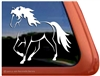 Custom Rocky Mountain Horse Trailer Car Truck RV Window Decal Sticker