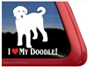 Labradoodle Window Decal