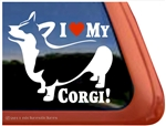 Pembroke Welsh Corgi Dog Car Truck RV Window Decal Sticker