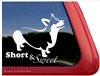 Corgi Window Decal