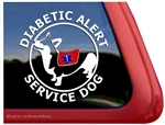Service Corgi Window Decal