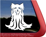 Custom Yorsire Terrier Dog Car Truck RV Window Decal Sticker