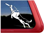 Custom Border Collie Frisbee Disc Dog iPad Car Truck Window Decal Sticker