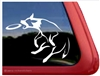 Custom Australian Cattle Dog Disc Frisbee Dog Car Truck RV Window Decal Sticker