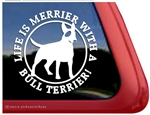 Bull Terrier Window Decal