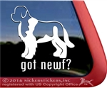 Newfoundland Window Decal