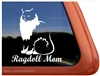 Ragdoll Cat Window Decal