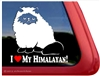 Persian Cat Window Decal