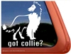 Collie Window Decal