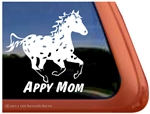 Leopard Appaloosa Window Decal