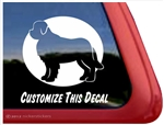 Custom Newfoundland Dog Car Truck RV Window Decal Sticker