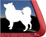German Spitz Window Decal