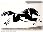 Custom American Paint HorseTrailer Window Decal