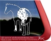 Appaloosa Window Decal