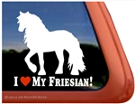Friesian Window Decal