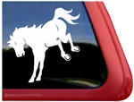 Kicking Trailer Window Decal