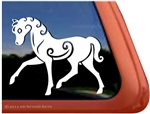 Inverurie Horse Trailer Window Decal