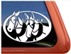 Mule Driving Window Decal