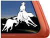 Mule Cutting  Window Decal