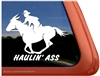 Mule Rider Window Decal