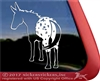 Custom Appaloosa Mule Car Truck Trailer RV Window iPad Tablet Laptop Decal Sticker
