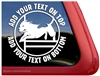 Custom Pit Bull Terrier Staffordshire Terrier Agility Dog Window Decal