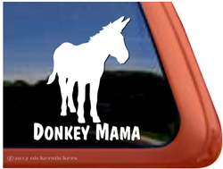 Donkey Window Decal