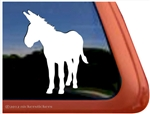 Custom Donkey Equine Trailer Car Truck RV Window Decal Sticker