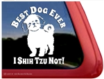 Shih Tzu Window Decal