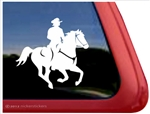 Galloping Horse Trailer Window Decal