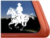 Custom Leopard Appaloosa Horse Trailer Window Decal
