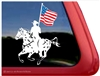 Appaloosa Drill Team Window Decal