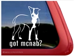 McNab Window Decal