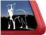 Custom McNab Dog Car Truck RV Window Decal Sticker