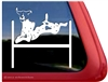 German Shorthaired Pointer Agility Window Decal