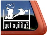 Springer Spaniel Agility Dog Window Decal