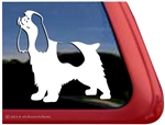 Parti Cocker Spaniel Window Decal