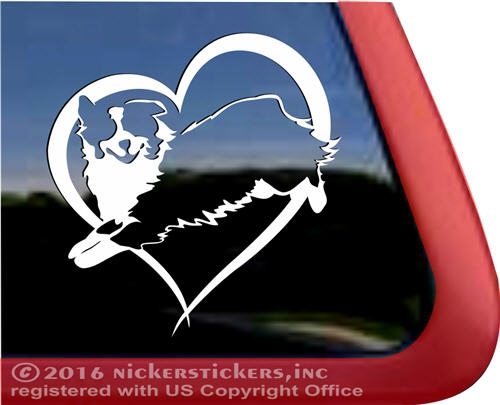Custom australian shepherd dog car truck rv window decal sticker · larger photo email a friend