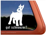 Schnauzer Window Decal
