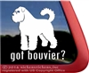 Bouvier des Flandres Window Decal