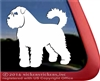 Custom Dog Decal Bouvier des Flandres Car Truck RV Window Decal Sticker