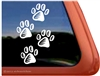 Dog Paws iPad Car Truck RV Window Decal Sticker